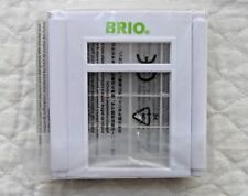 BRIO WORLD FAMILY HOME PLAY SET WINDOW AND GLASS WALL PANELS BRAND NEW! SEALED!