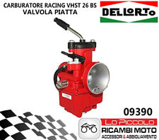 09390 Carburettor Dellorto Vhst 26 BS 2T Air Manual Universale Scooter Red R