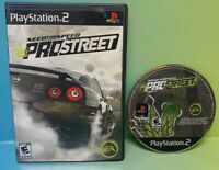 Need For Speed Pro Street  Racing Playstation 2 PS2 Game Rare Tested PROSTREET
