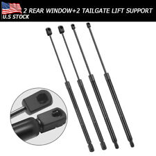 4x Rear Window+Tailgate Lift Support Shock For GMC Yukon Tahoe Suburban Escalade
