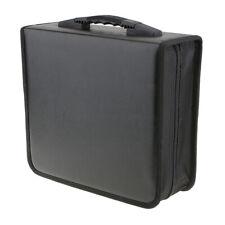 400 Disc Cd Dvd Wallet Album Plastic Storage Organizer Holder Case Bag
