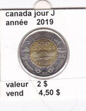 C 1 ) pieces de 2 dollar ( jour J ) 2019 &