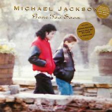 """Michael Jackson-ido demasiado pronto (12"""") (EX +/EX) (2)"""
