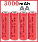4 Pilas AA Recargables ★ 3000mAh ★ 1,2 voltios ★ Baterias - Batteries x4 - 4pcs