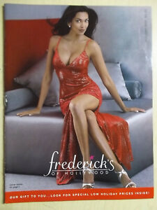 Frederick's of Hollywood Holiday edition 1999 sexy cover Christmas
