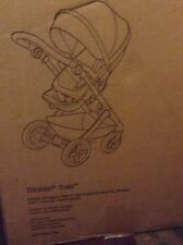 Stokke Trailz Stroller - RED.   NIB