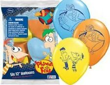 PHINEAS AND FERB latex balloons perfect for your birthday party- FREE SHIPPING