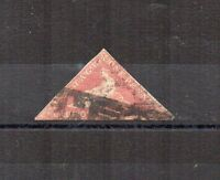 South Africa - Cape of Good Hope 1864  1d Hope triangular used