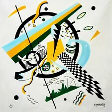 Wassily Kandinsky - Small Worlds 120x120 cm Reproduction Oil Painting