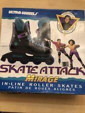 New Wayne Gretzky Street Attack Inline Skates vintage w/ Box adult size 8 (7e