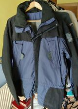 Norrona Slogen Lang Jakke Hooded Ski Jacket - Gents L - Blue/Black