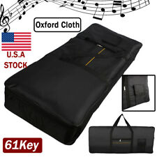 Portable 61-note Electric Keyboard Piano Padded Gig Bag/Case Backpack w/Pocket
