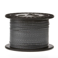 "14 AWG Gauge GPT Marine Wire Stranded Hook Up Wire Gray 250 ft 0.071"" 60 Volts"