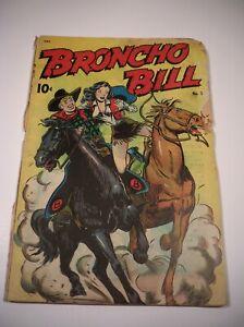Broncho Bill Comic Golden Age Western #5, 1947