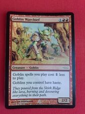 Goblin Warchief   Friday Night Magic Promo DCI MTG Magic The Gathering