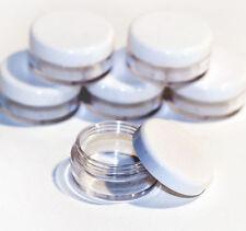 100 x 5ml screw top craft pots for glitter, lip balm Jdw-100