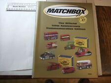 More details for matchbox official 50th anniversary commemorative guide- pub.2002 - 271 pp - h/b