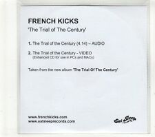 (GT739) French Kicks, The Trial Of The Century - DJ CD