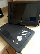 "Personal DVD Player 10"" swivel head, excellent condition, + pristine carry bag"