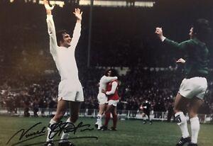 Signed Norman Hunter Leeds United 1972 Photo (3)
