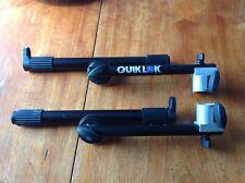 More details for quik lok qlx/3 adjustable second tier add-on - black