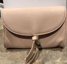 NIB Chloe Blush Pink Small Pouch Clutch Makeup Bag