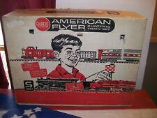 Vintage Gilbert American Flyer Electric Train Set S Gauge 20597 Engine Track Box