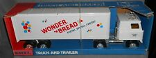 Ertl WONDER BREAD Semi Truck and Trailer MADE IN USA Vintage in Box