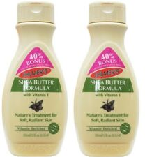 2 x PALMERS 350mL BODY LOTION RAW SHEA BUTTER FORMULA WITH VITAMIN E Brand New