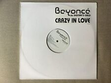 "Beyonce feat. Jay-Z ‎– ""Crazy In Love"" Rare French Promo 12"" Single Vinyl Record"