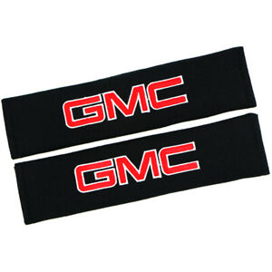 Cotton Car Seat Belt Covers Shoulder Pad Safety Cushion for GMC Logo Comfort Pad