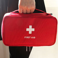 EP_ First Aid Kit Bag Emergency Medical Survival Treatment Rescue Empty Box Heal