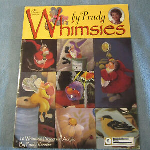 """Prudy Vannier """"Whimsies"""" Decorative Tole Painting Book"""