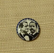 Awesome vintage 1968 Bryan & Sewall presidential campaign pin repro by Kleenex