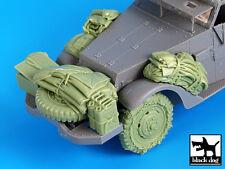 Black Dog 1/35 US M2 Half-track WWII Accessories Set No.2 (for Dragon) T35036