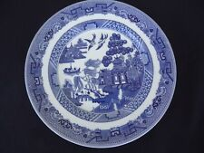 johnson bros brothers blue willow pattern bread & butter plate