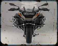 Bmw R1200Gs Adventure 14 7 A4 Metal Sign Motorbike Vintage Aged