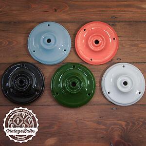 Vintage ceramic porcelain ceiling rose antique style retro light fitting