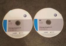 2020 VW SKODA SEAT RNS510/RNS810 Sat Nav  DVD Disc Map WEST&EAST Europe V17