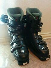 Tecnica Nero Duo 7.5 Downhill Women's Ski Boots Size 6 1/2, 23.5 Black NWT New