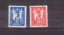 GERMANY DDR 1949 postal workers set used