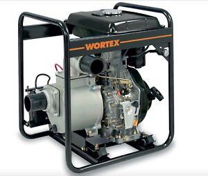 Power Pump Diesel WORTEX HPW 80 E With Engine Hailin 6 HP Irrigation 33814oz/M