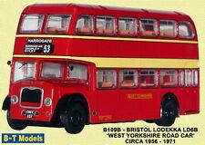 B-T Model B109B Bristol Lodekka  West Yorks Red 1/76 Scale OO Gauge 1st Class