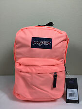 Jansport Superbreak Backpacks CORAL PEACHES 100% AUTHENTIC School backpack Bags