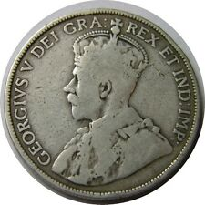 elf Canada 50 Cents 1913  George V