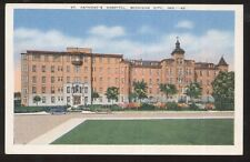 Postcard MICHIGAN CITY Indiana/IN  St Anthony's Hospital Building view 1930's