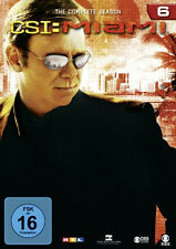 6 DVDs * CSI : MIAMI -  KOMPLETTE STAFFEL / SEASON 6 # NEU OVP §