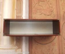 Coppia mensole librerie scaffale a giorno da parete