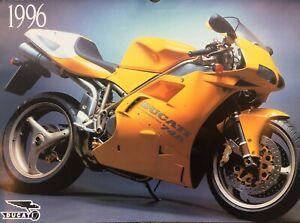 Ducati Calendar Rolf im Brahm 1996 748 SP bevel 750 Sport SS 450 175 single F1
