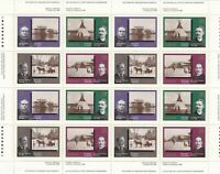 1237-1240 CANADIAN PHOTOGRAPHY FULL INSCRIPTION SHEET OF 50